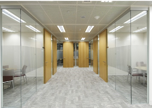 Beautiful Clean open Plan office Fit-out design and installation