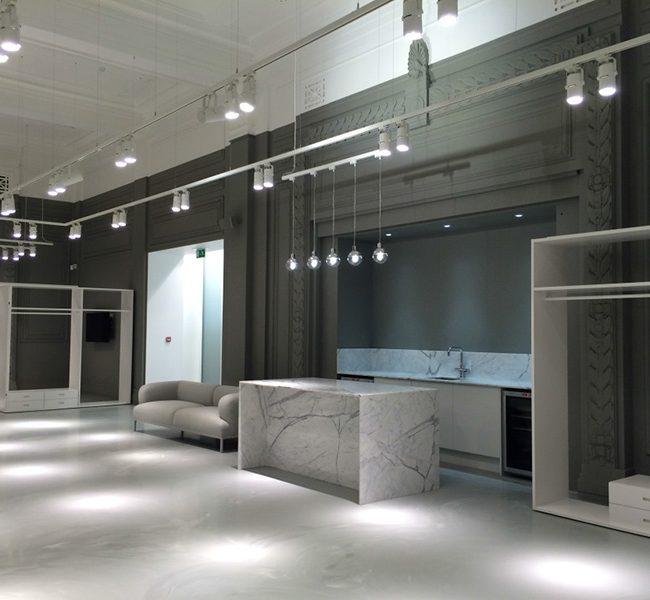 OFFICE installation interiors