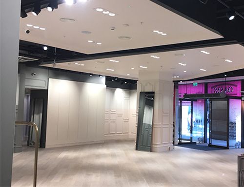Oasis stores planned and designed for fit-out