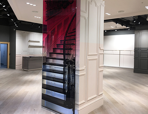 Oasis stores planned and designed and completed for fit-out