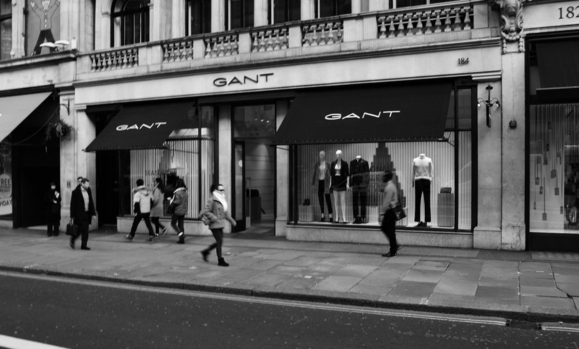 Gant Shop Fitting Installation Fit-Out complete