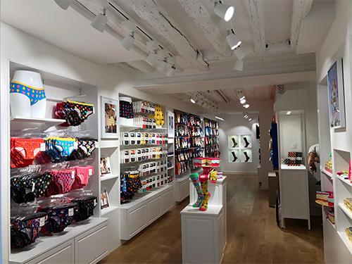 Paris Shopfitters Happy Socks Sweden Store Install