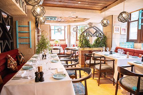 London Restaurant Shopfit for Mezze