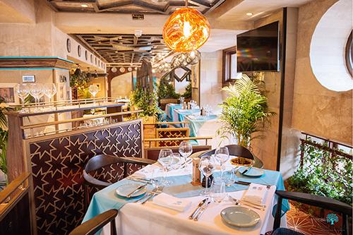 Restaurant Shopfitting for Maison Du Mezze