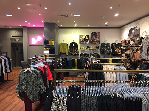 The Oasis Store Shopfit layout is complete