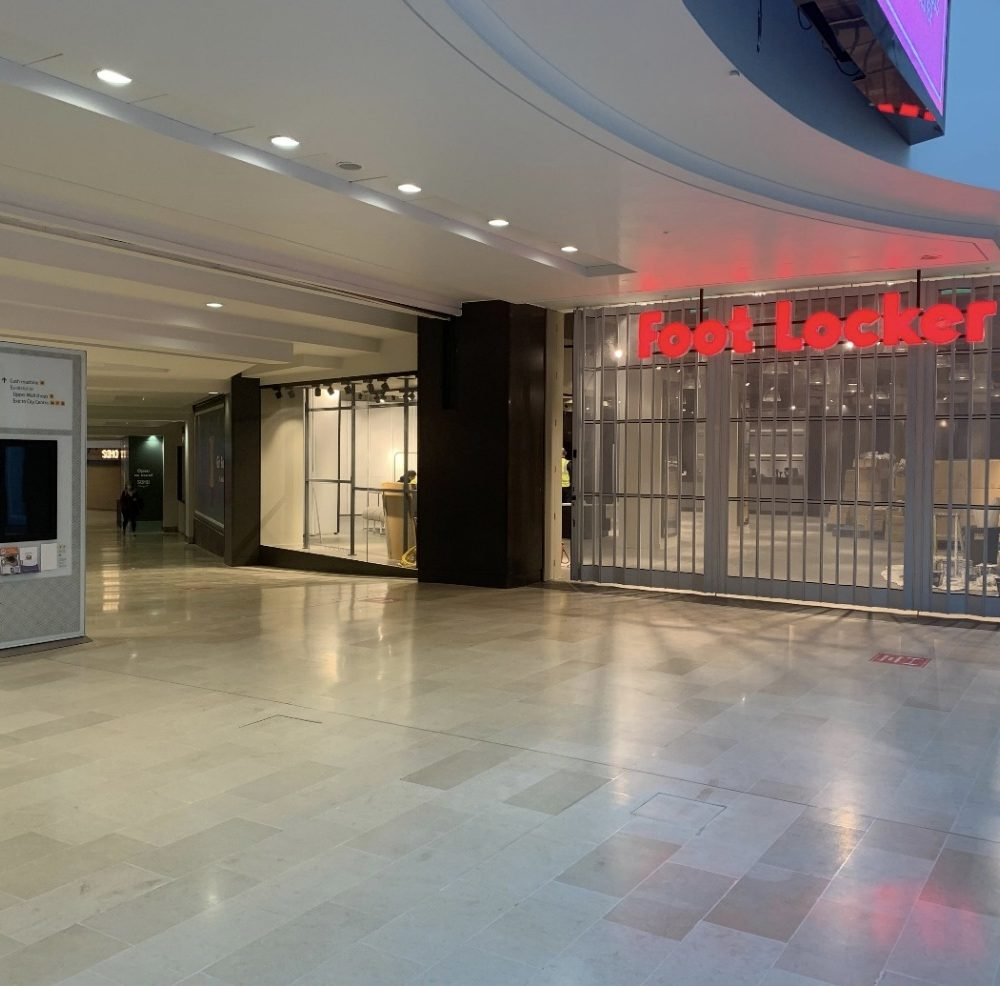 Foot Locker Re-Fit Leicester