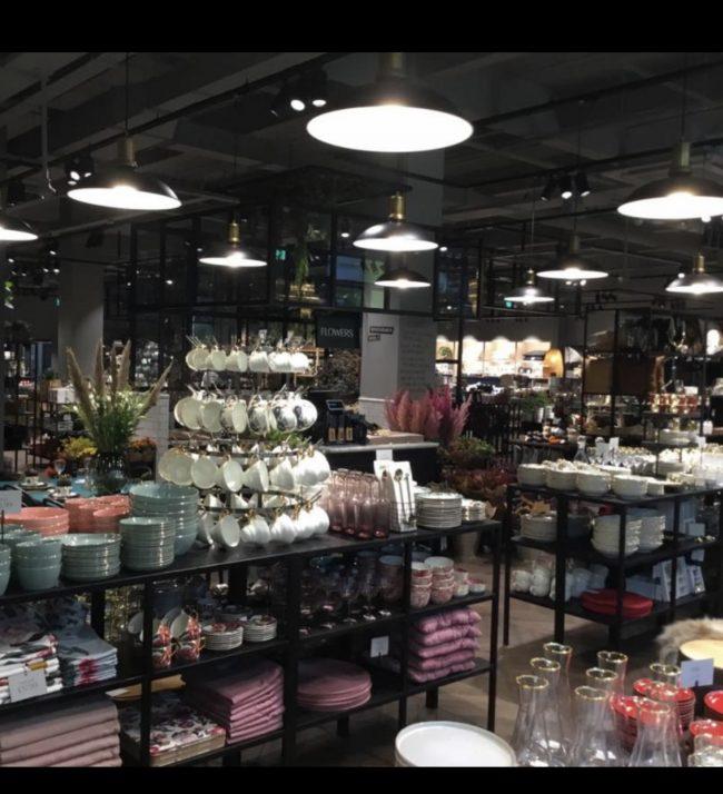 H&M Home Shop Store Refit Renovation